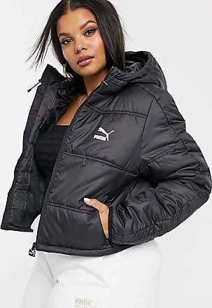 Puma Plus Cropped Puffer Jacket Black