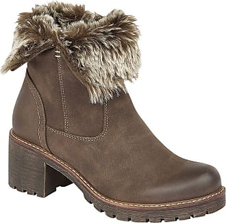 NEW UK Size 8-£29.99 New Look Brown Lace Up Collar Boots Shoe