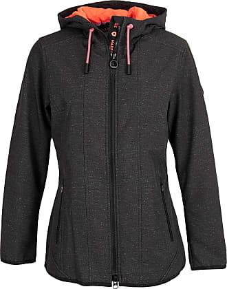 Damen Sportjacke,Luotuo Frauen Mode Einfarbig Lange /Ärmel Sweatshirt Simple Beil/äufig Rei/ßverschluss Coat mit Tasche T/äglich Running Sport Outwear Bequem Atmungsaktiv