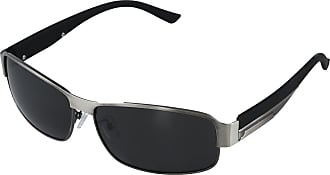 Sodial (R) Fashion Driving Glasses Polarized Men Sunglasses Outdoor Sports Goggles Eyewear-Silver gun