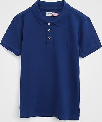 Reserva Mini Camisa Polo Reserva Mini Infantil Logo Azul