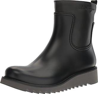 a5b8a8d896df Salvatore Ferragamo Freddo Rain Boot, Black 40 (US Mens 6) D - Medium