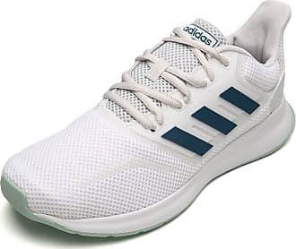 adidas Performance Tênis adidas Performance Run Falcon W Branco/Azul
