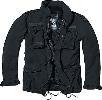 Brandit M65 Giant Mens Parka Winter Jacket - Black - XXXXXXXL