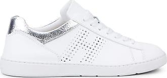 Hogan Sneakers H327, ARGENTO,BIANCO, 34 - Scarpe