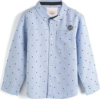 Milon Camisa Milon Menino Estampa Azul