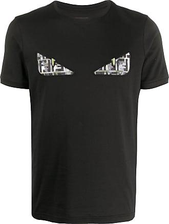 Fendi Camiseta Bag Bugs - Preto