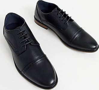 Burton Menswear brogues in black