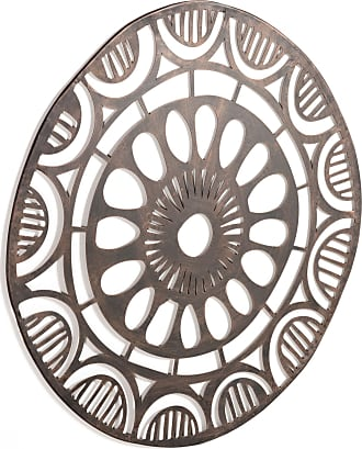 Kavehome Cuadro metálico Atila Ø 72 cm