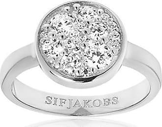 Sif Jakobs Jewellery Ring Novara mit weißen Zirkonia