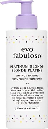 evo Hair Fabuloso Platinum Blonde Toning Shampoo 250 ml