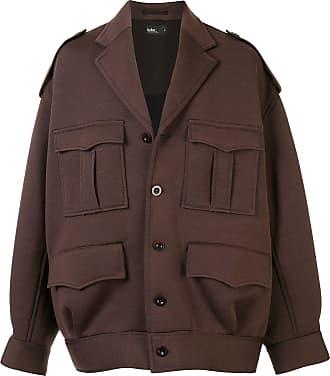 Kolor oversized multi-pocket jacket - Brown