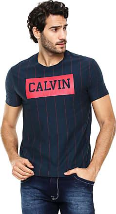 7fc705ae5 Calvin Klein Jeans Camiseta Calvin Klein Jeans Logo Azul