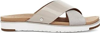 UGG Womens Kari Patent Slide in Feather, Size 7.5, Leather