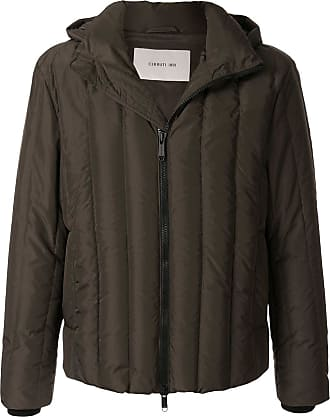 Cerruti quilted hooded jacket - Green