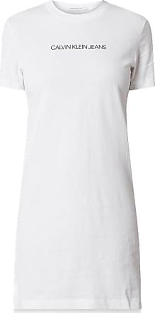 Neues Damen Superdry Strukturiertes Pacific T-Shirt-Kleid Cream