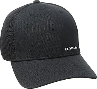 uk availability 10b95 2d26c Oakley Mens Silicon Bark Trucker 4.0 Hat, Black, Small Medium