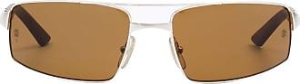 Cartier Óculos de Sol Retangular Marrom - Mulher - Único FR