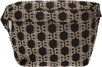 Balmain Logo Belt Bag Mens Brown