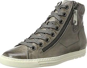 Paul Green Damen 1230371 37.5 Hohe Sneaker, Grau (Grey), 37.5 EU 8172a7adf0