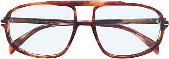 David Beckham Óculos de sol aviador DB 1000/s - Marrom
