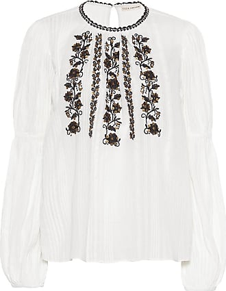 Ulla Johnson Bluse Vida aus Gaze