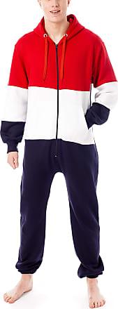 newfacelook Mens Onesie Aztec Print All in One Adult Jumpsuit One Piece Unisex Nightwear