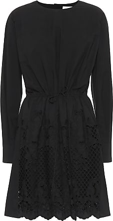 See By Chloé Cotton broderie anglaise minidress