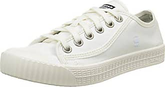54eba86ab403ba G-Star G-Star Damen Rovulc Denim Low Sneakers Sneaker Weiß (White 110