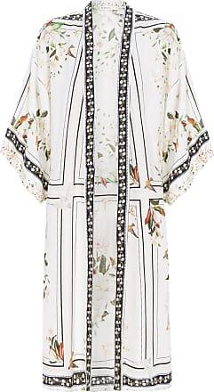 Dress To Kimono Estampa Livre - Off White