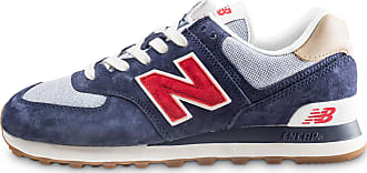 quality design 2cea7 dae1c New Balance Homme Ml574ptr Bleu Et Rouge Baskets