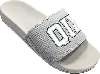 Qix Chinelo QIX Slide 93 Masculino - Cinza - 39/40
