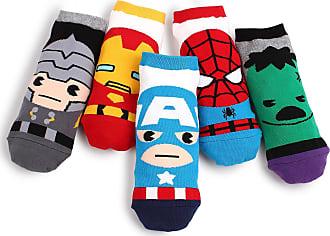 Kiki De Montparnasse Marvel Original Avengers Lowcut Socks (5-PACK) CK