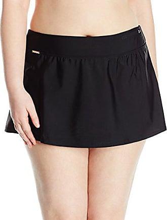 ZeroXposur Womens Plus-Size Action Skirted Bikini Bottom, Liquorice, 20W