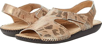 Naturalizer womens Scout Flat Sandals Brown Size: 8.5 Wide