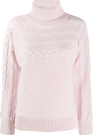 PESERICO Suéter de tricô gola alta - Rosa