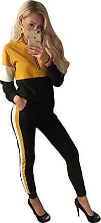 Worldclassca Damen Jogging Trainingsanzug Jogginganzug Hausanzug WELLNESSANZUG Trainingsanzug MIT Strass Freizeitanzug Fitness Sportanzug Fitness Jacke Hose Set Zip Uni Farben Blogger