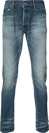 John Elliott + Co faded effect jeans - Azul