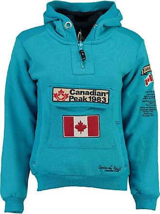Canadian Peak Mens Galapagos Hooded Sweatshirt - Blue - Medium
