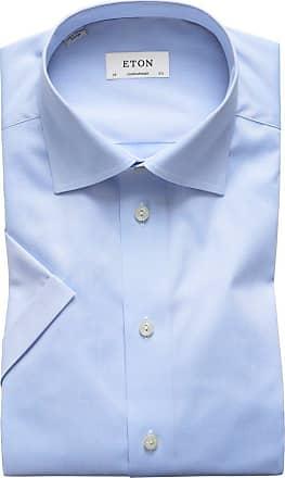 Eton Kurzarmhemd, Contemporary Fit von Eton in Blau für Herren