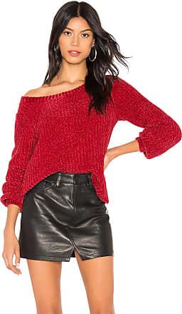 BB Dakota Smooth Sailing Sweater in Red