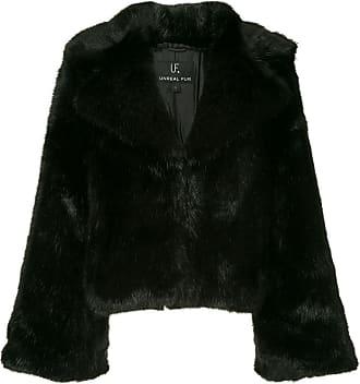 Unreal Fur Madam Butterfly jacket - Black
