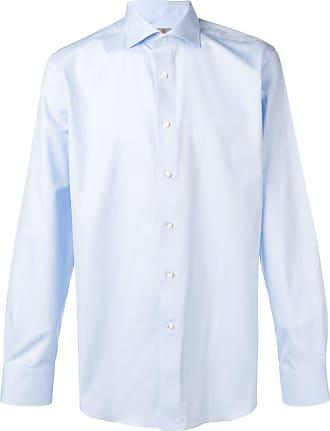 Canali Camisa clássica - Azul