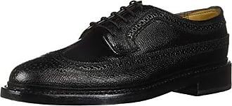 Florsheim Mens Kenmoor Wing tip Oxford Cashmere Calf Black 7 E
