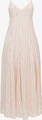 Three Graces London Carlota Dress in Wave Stripe
