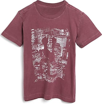 Reserva Mini Camiseta Reserva Mini Infantil Estampada Vinho