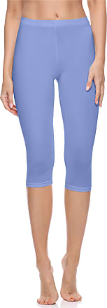 Merry Style Womens 3/4 Leggings MS10-199(Blue, XS)