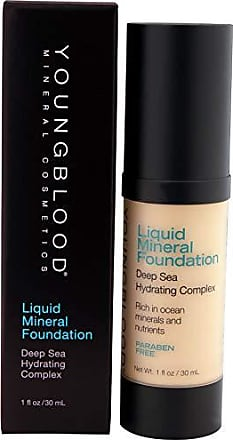 Youngblood Mineral Cosmetics Liquid Mineral Foundation, Sand, 1 Ounce