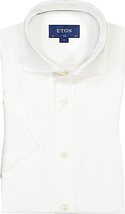 Eton Oberhemd, kurzarm von Eton in Weiss für Herren