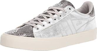 Gola Womens Orchid II Sneaker, Silver/Snake